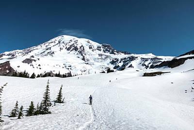 Washington, Mount Rainier Print by Matt Freedman