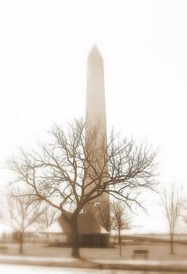 Washington Print by Paula Brown