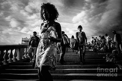 Citylife Photograph - We Live As We Dream by Traven Milovich