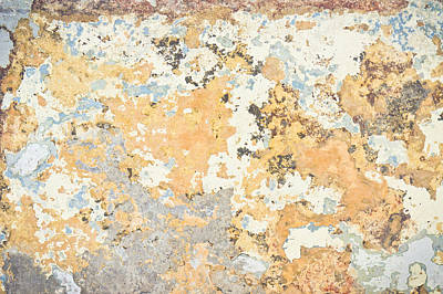 Abstact Photograph - Weathered Wall by Tom Gowanlock