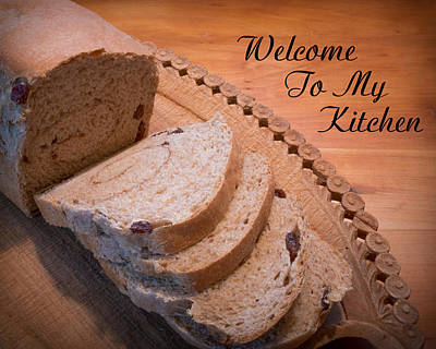 Welcome To My Kitchen Original by Kenneth Cole