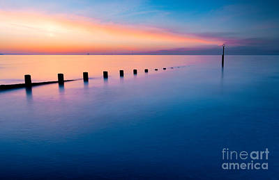 Submerge Photograph - Welsh Sunset by Adrian Evans
