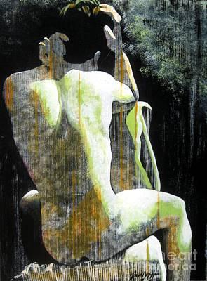 Contemplative Painting - Whats Next by Robert D McBain