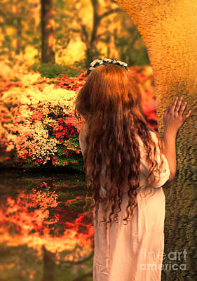 Fay Photograph - Where Fairies Live by Jasna Buncic