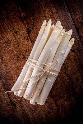 Asparagus Photograph - White Asparagus by Aberration Films Ltd