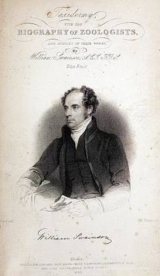 Taxonomy Photograph - William Swainson by Paul D Stewart