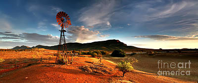 Drought Photograph - Wilpena Pound by Bill  Robinson