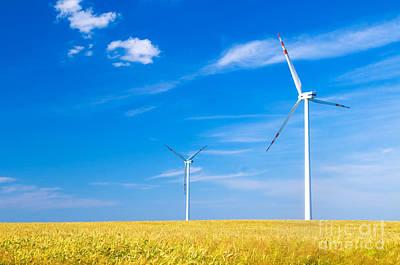 Global Photograph - Wind Turbines Landscape by Michal Bednarek