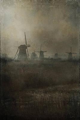 Windmills Print by Joana Kruse