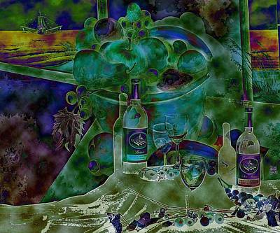 Painting - Wine A Little by Virginia Bond