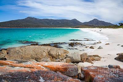 Summer Photograph - Wineglass Bay Beach Tasmania Australia by Matteo Colombo