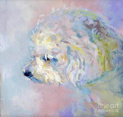 Winter Mickee Print by Kimberly Santini