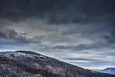 Winter View Highland Scenic Highway Print by Thomas R Fletcher