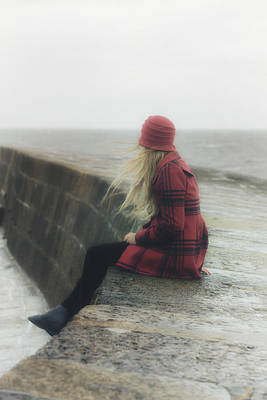 Cobb Photograph - Woman On Pier by Joana Kruse