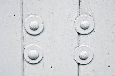 Hardware Photograph - Wood And Bolts by Tom Gowanlock