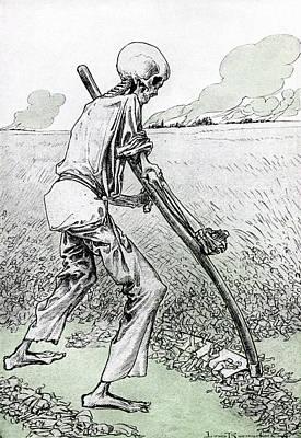 World War I Cartoon Print by Granger