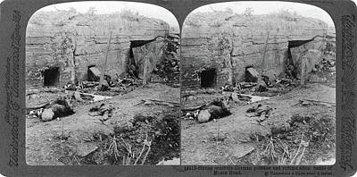 World War I German Dead Print by Granger
