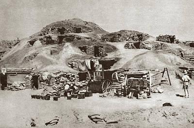 World War I Palestine Print by Granger