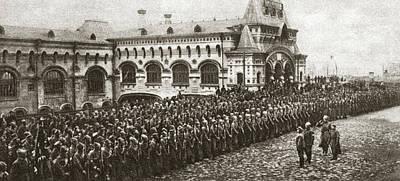 World War I Vladivostok Print by Granger