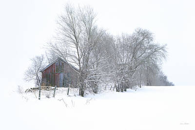 Old Photograph - Wyeth Winter by Bruce Thompson