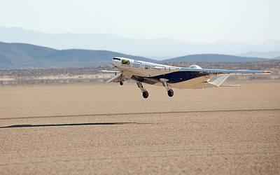 X-48c Blended Wing Body Aircraft Print by Nasa/carla Thomas