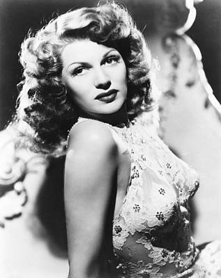 You Were Never Lovelier, Rita Hayworth Print by Everett