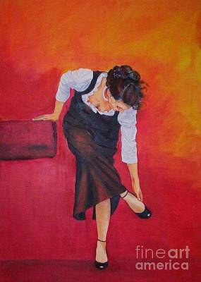 Dagmar Painting - Zapatos I by Dagmar Helbig