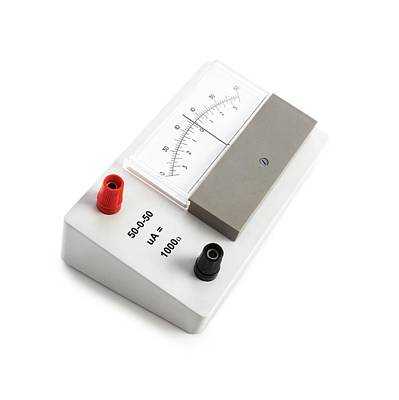 Amp Photograph - Zero-centre Ammeter by Science Photo Library
