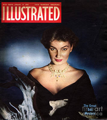 1950s Uk Illustrated Magazine Cover Print by The Advertising Archives