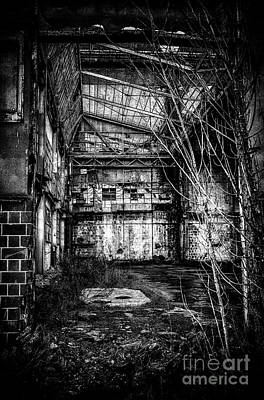 Building Factory Work Vintage Photograph - Abandoned Sugarmill by Traven Milovich