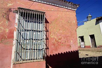 Caribbean Corner Photograph - Cuba Trinidad by Henk van der Leeden