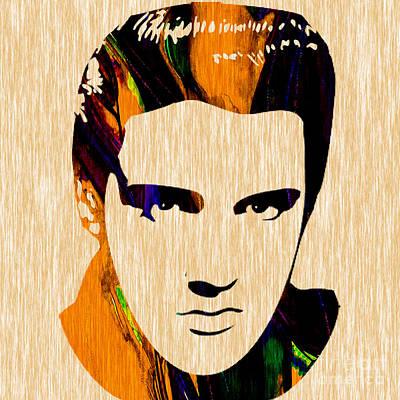 Elvis Presley Print by Marvin Blaine