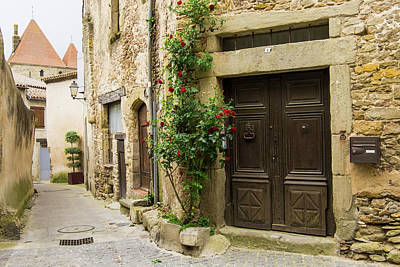France, Languedoc-roussillon, Ancient Print by Emily Wilson