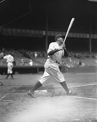 Mlb The Pitcher Photograph - George H. Babe Ruth by Retro Images Archive