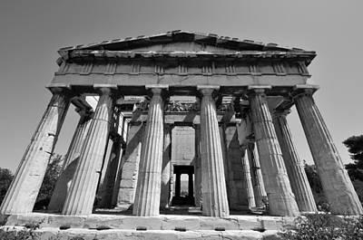 Hephaestus Temple Print by George Atsametakis