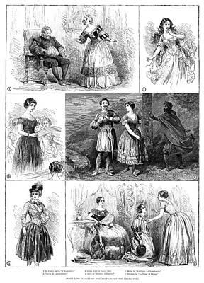 Jenny Lind (1820-1887) Print by Granger