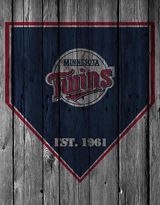 Present Photograph - Minnesota Twins by Joe Hamilton