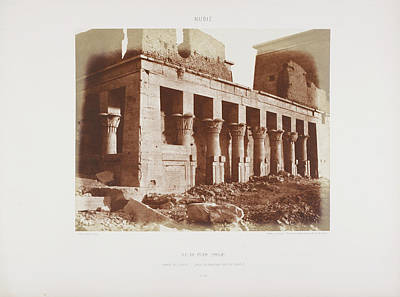 Photograph Of The Egyptian Landscape Print by British Library