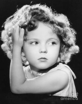 Shirley Temple Photograph - Shirley Temple by MMG Archive Prints