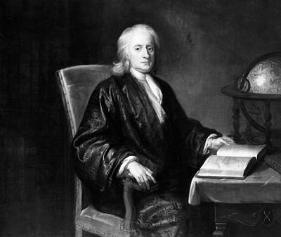 Isaac Newton Painting - Sir Isaac Newton (1643-1727) by Granger