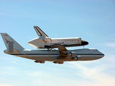 Space Shuttle Endeavour Print by Jeff Lowe