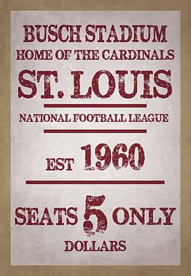St Photograph - St Louis Cardinals by Joe Hamilton