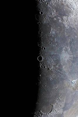 Surface Of The Moon Print by Babak Tafreshi