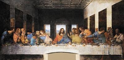 Restore Painting - The Last Supper by Leonardo da Vinci
