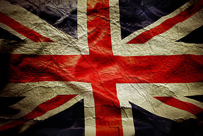 Union Jack  Print by Les Cunliffe