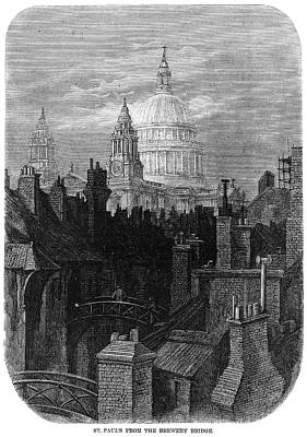 Rooftops Painting - Dor� London, 1872 by Granger