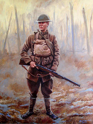 106th Infantry Regiment 1918 Original by Mark Maritato