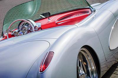 1960 Chevrolet Corvette Print by Jill Reger