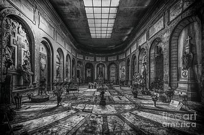 Certosa Di Bologna Print by Traven Milovich
