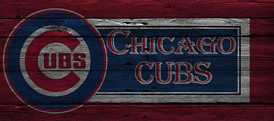 Chicago Cubs Print by Joe Hamilton